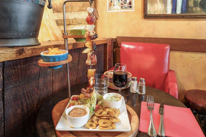 Cubana Café Restaurant Latino Paris Plat
