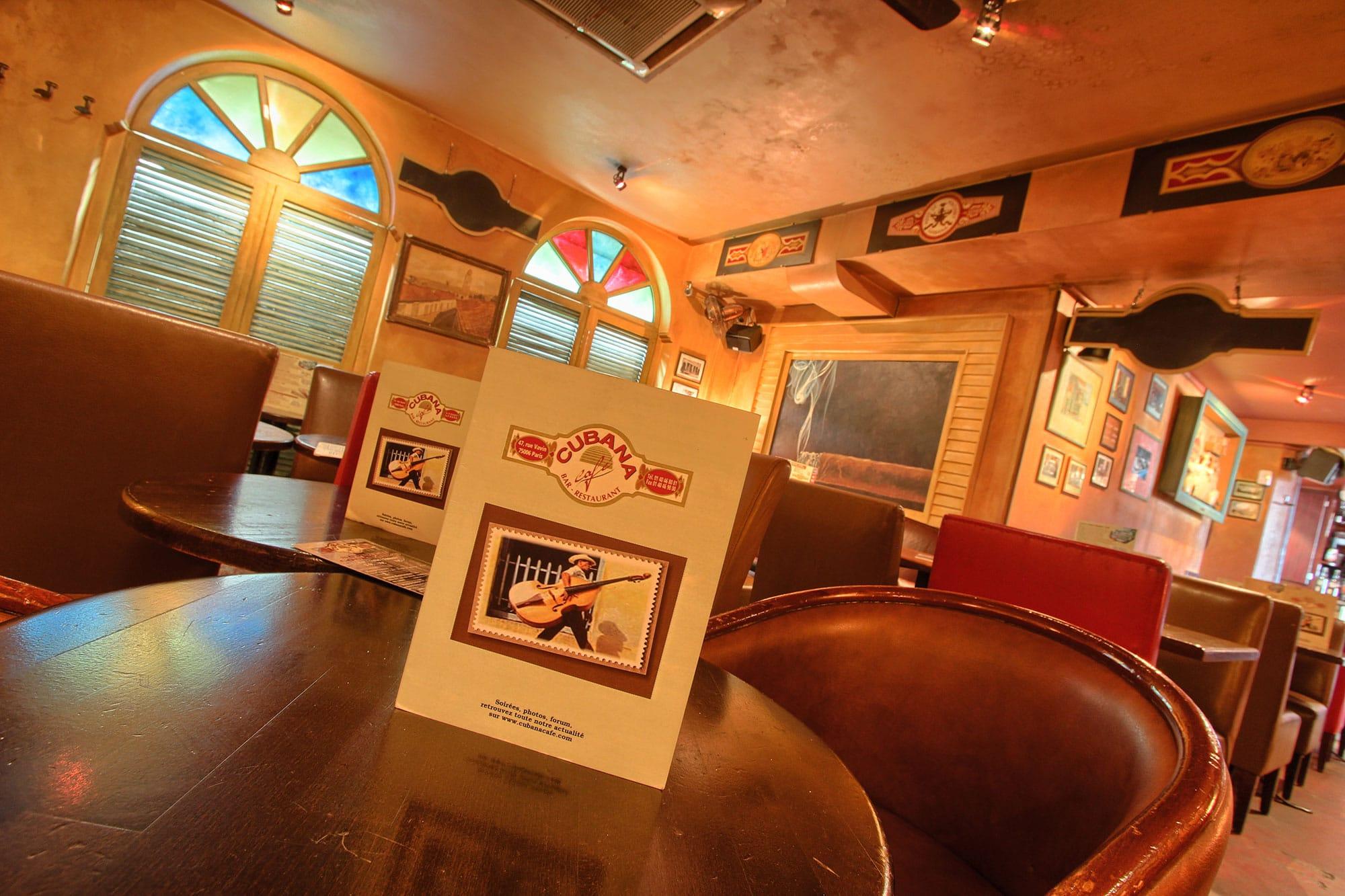 Cubana Café Restaurant Latino Paris