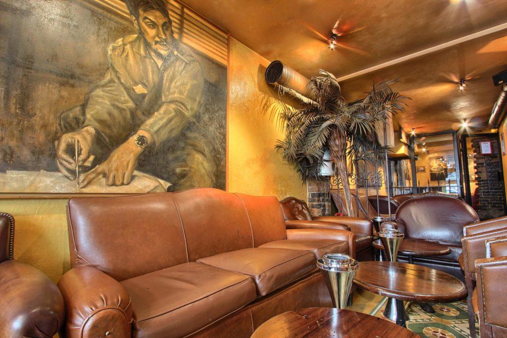 Cubana Café salon fumoir cosy Paris
