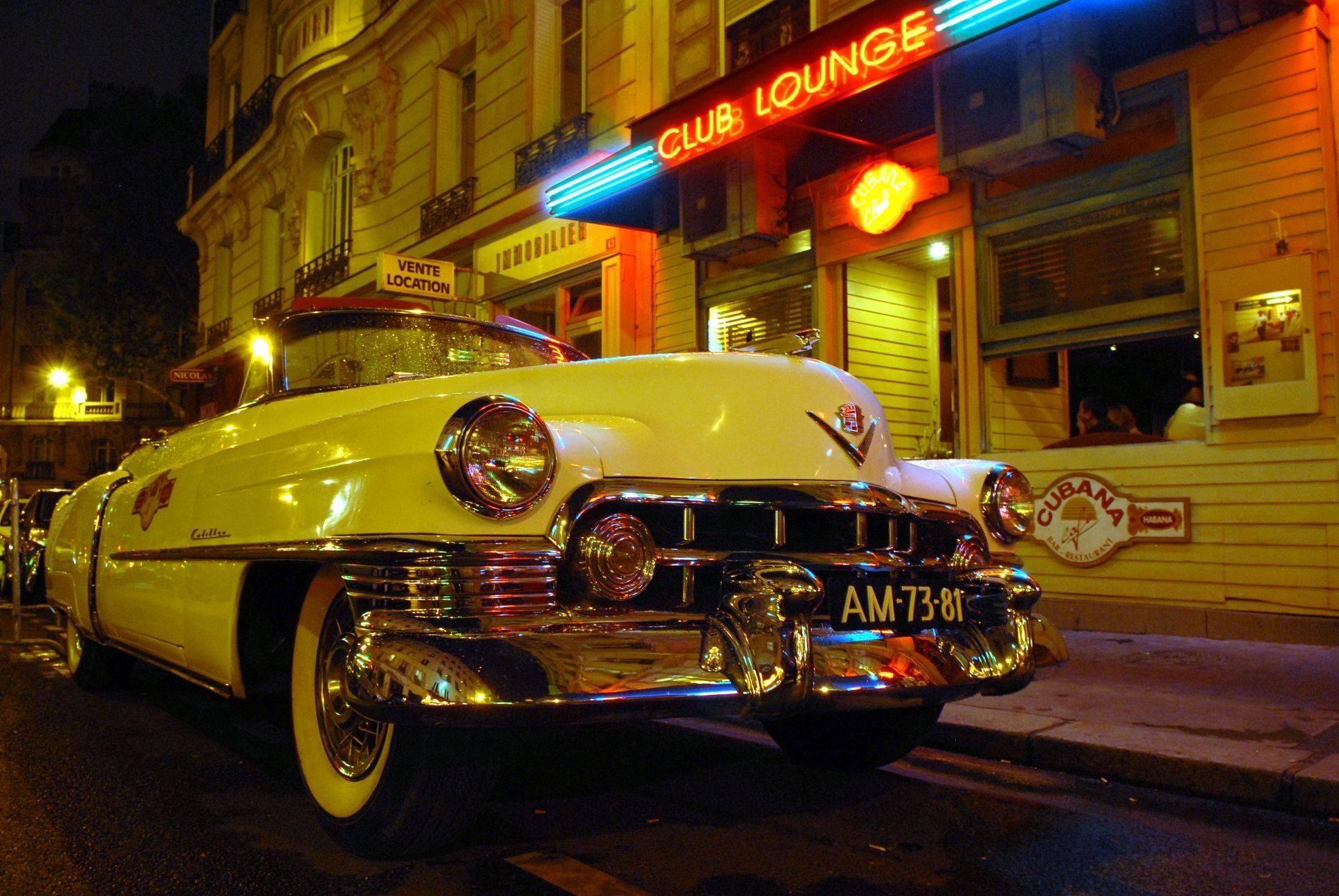 Cubana Café bar de nuit Paris soirées cubaines salsa groupe cadillac EVJF