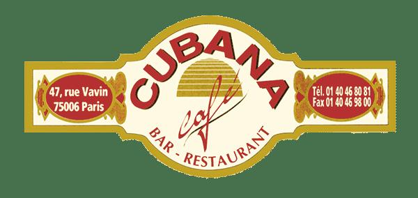 Logo Cubana Café Paris- Bar Restaurant Fumoir Cuba Paris Salsa Pub latino