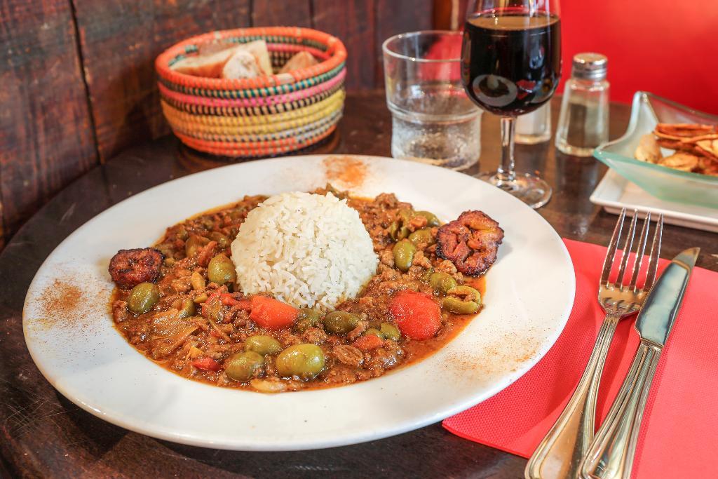 Cubana Café Restaurant Montparnasse Cuisine Cubaine