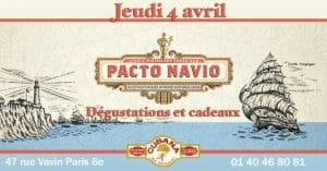 Soirée Cubana Café et Rhum cubain Pacto Navio le 4 avril 2019 Bar à cocktails, fumoir, restaurant Montparnasse