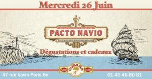 Soirée Cubana Café et Rhum cubain Pacto Navio le 26 juin 2019 Bar à cocktails, fumoir, restaurant Paris Montparnasse