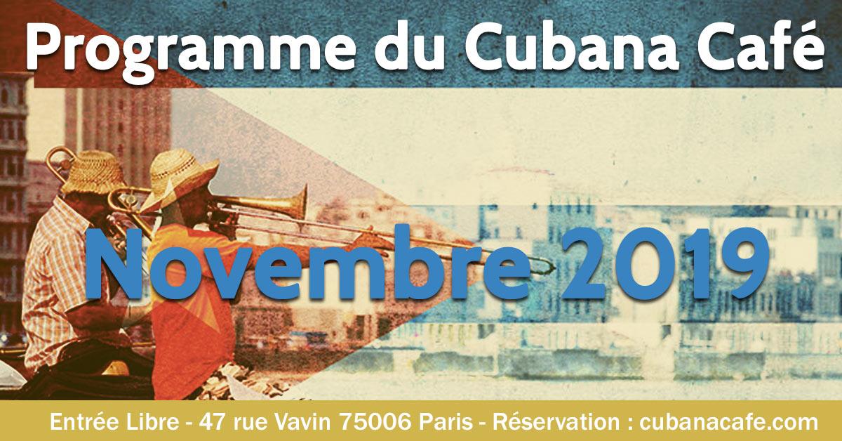 Cuba en novembre à Paris